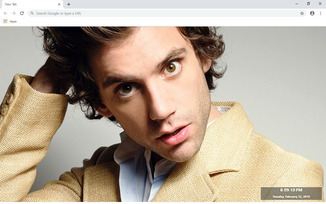 Mika New Tab & Wallpapers Collection