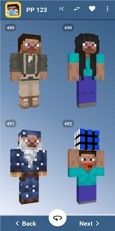 Steve Skins for Minecraft PE - MCPEのおすすめ画像2