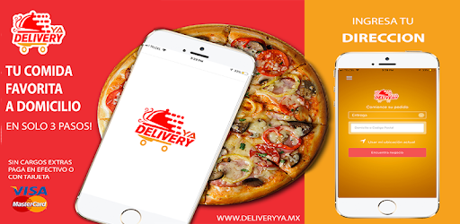 Delivery Already your favorite food a click away! FOOD AT HOME