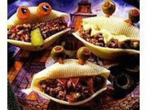 Monster Mouth Stuffed Pasta Shells Recipe