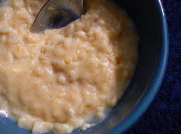 MR Creamy Rice Pudding