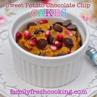 Sweet Potato Chocolate Chip Jar Cakes
