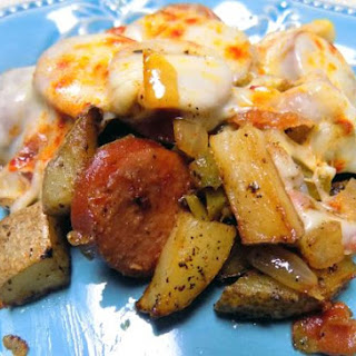 Kielbasa Potato Bake