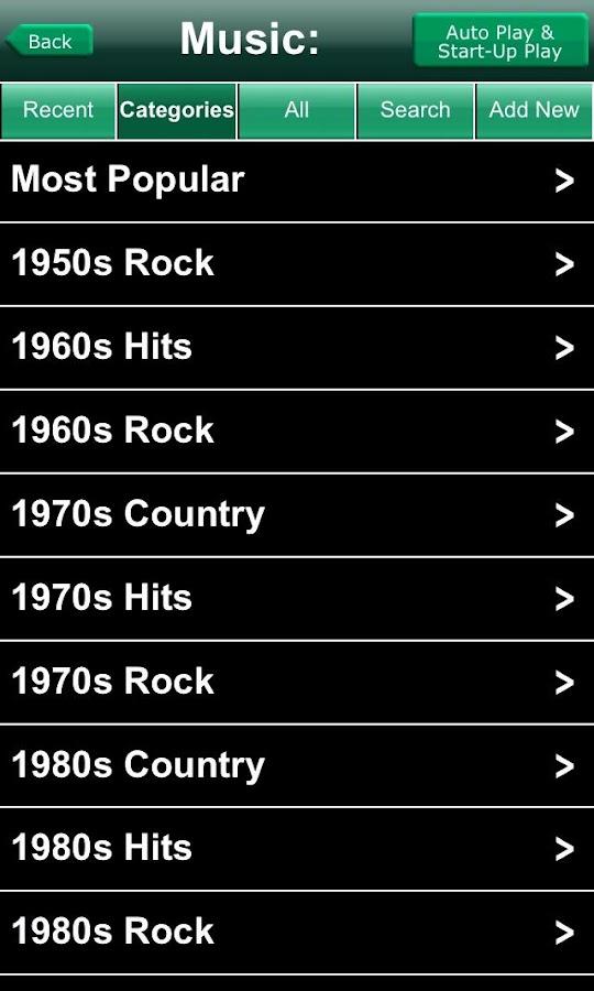 iNetRadio- screenshot