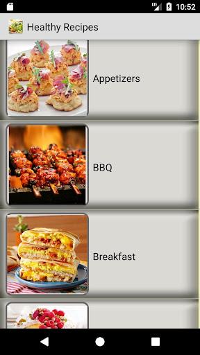 Healthy Recipes - Easy, Salad recipe, Diet recipes 1.4.1 screenshots 1