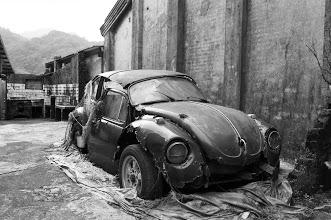 Photo: 老婆說....這是藝術!Volkswagen的金龜車好像很少人知道它跟知名的保時捷跑車有很大的關聯~