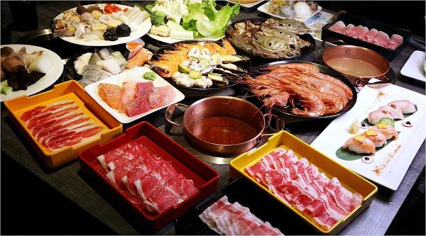台南美食-蜜蜜仙境~新型態吃到飽餐廳buffet+火鍋+精緻甜點|澎湃海鮮|異國料理|新鮮現打果汁|超cool分子液態氮冰淇淋