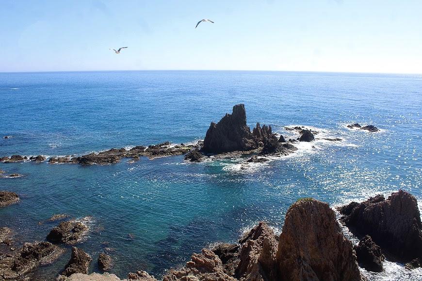 Parque Natural Cabo de Gata-Níjar, Arrecife de las Sirenas.