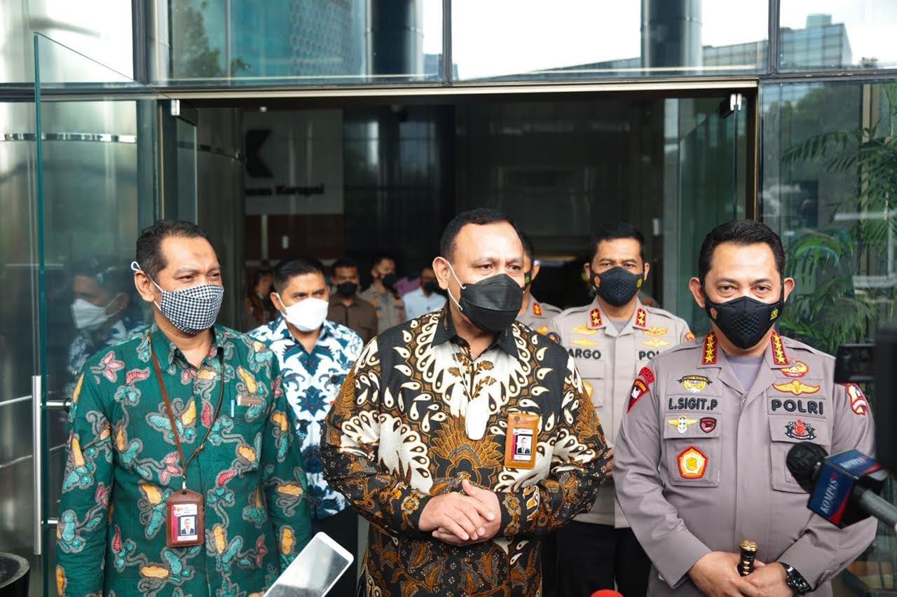 Sambangi KPK, Kapolri Bicarakan Penguatan SDM, Pencegahan Hingga Joint Investigasi