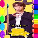 BTS Coloring Book  방탄소년단 icon
