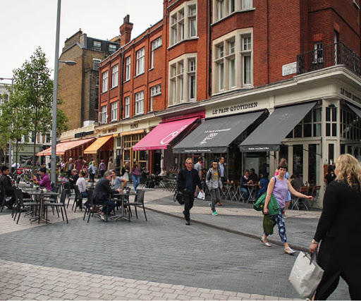 Restaurants and Cafes in Kensington