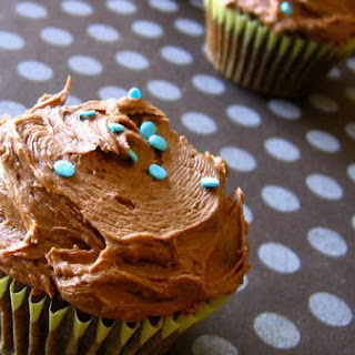 Kahlua Chocolate Cupcakes With Kahlua Frosting