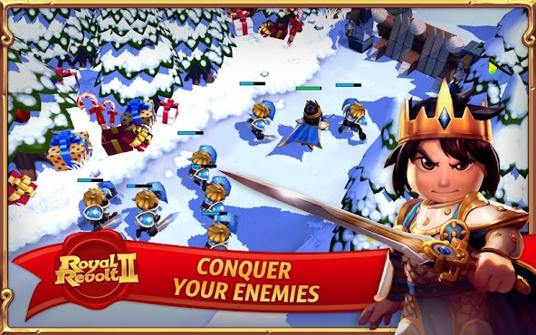Royal Revolt 2 v1.9.6 [Mod Mana/Attack]