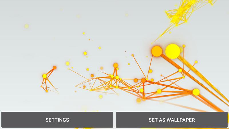 Abstract Particles Wallpaper Screenshot 18