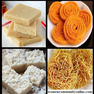 Diwali Sweets and Snacks Recipes.