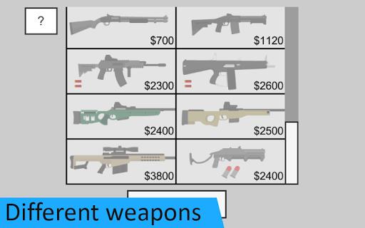 Flat Zombies: Defense & Cleanup  screenshots 1