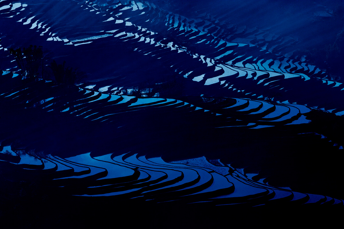Photo: Shot of the Day - The rice terraces of southern Yunnan in China - a manmade wonder.