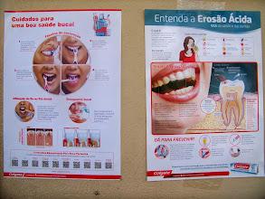 Foto: Informações sobre Higiene Bucal