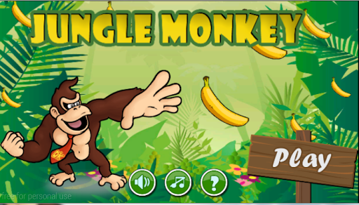 super jungle monkey run