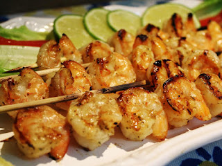 Honey Mustard Shrimp On The Bar-b Recipe