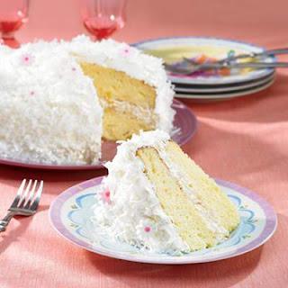 Pineapple Coconut Cake.