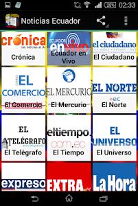 Noticias de Ecuador screenshot 0
