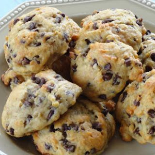 Banana Bread Chocolate Chip Cookies