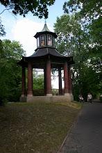Photo: Warszawa, Wilanow, park i ogrod, altana chinska, 08/2006 fot. Robert Gutowski