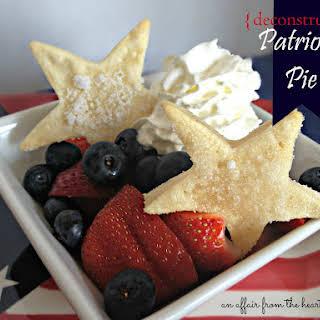 {deconstructed} Patriotic Pies.