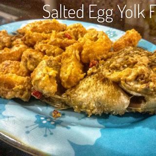 Salted Egg Yolk Fish Recipe