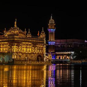 The Golden Temple complex by Hariharan Venkatakrishnan - City,  Street & Park  Historic Districts