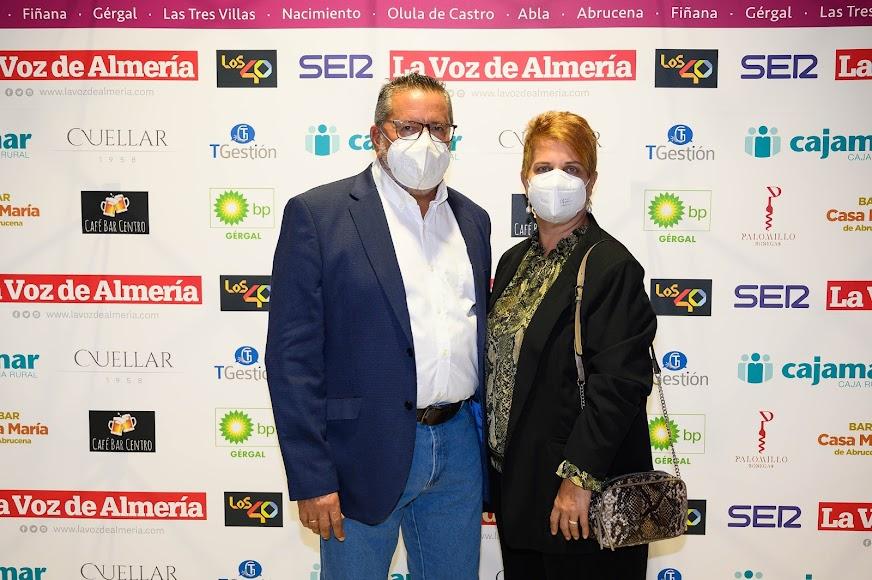 CC.OO. Almería: Antonio Valdivieso, secretario general, junto a Mª Isabel López.