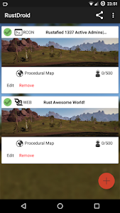 RustDroid: Rust Server Admin screenshot 1