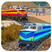 New Super Euro Train Simulator : Train Drive