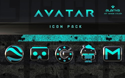 AVATAR Icon Pack Screenshot