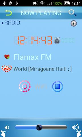 android Creole Radio Screenshot 1