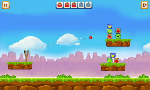 Angry Chicken - Knock Down 2.1 screenshots 4