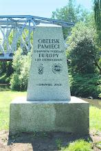 Photo: dzięki staraniom sosnowieckiego oddziału PTTK uprzątnięto teren i postawiono nowy obelisk  może kiedyś uda się postawić wieżę widokową podobną do tej, która istniała ponad sto lat temu?