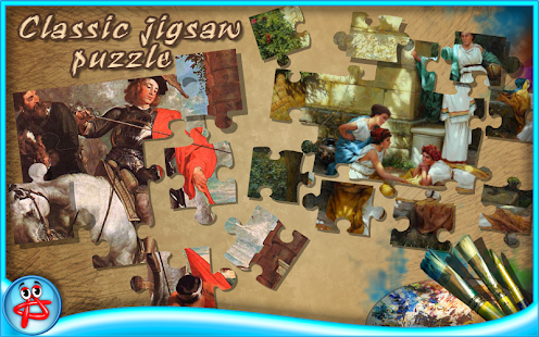 Greatest Artists:Jigsaw Puzzle- screenshot thumbnail
