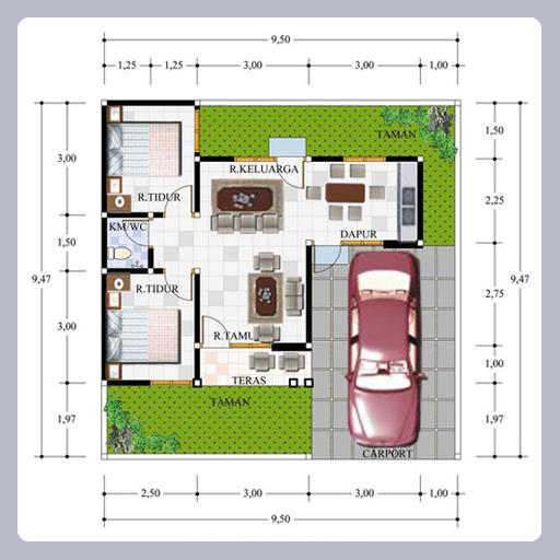 Gambar Denah Rumah Type 45 Minimalis Apk Download Apkpure Co