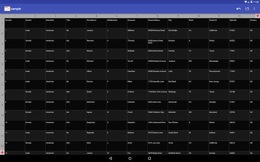 CSV Editor 1.5 Windows u7528 10