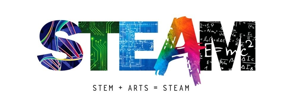 Nathalie Gonzalez Graphic Designer of the STEAM logo - All rights reserved