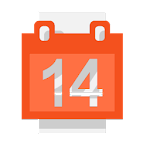 Calendar for Wear OS (Android Wear) Icon