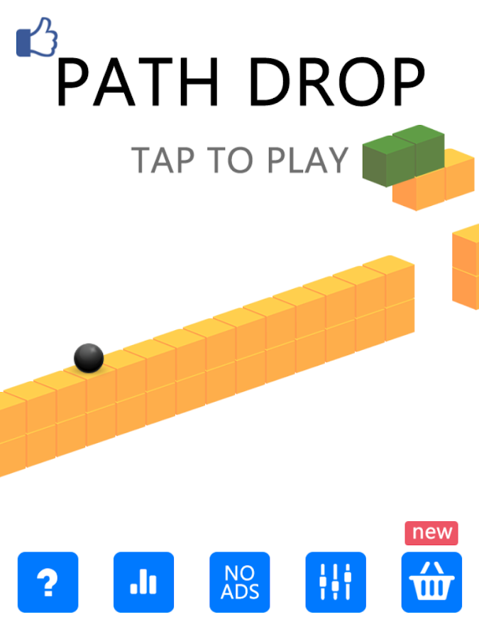 Path Drop- screenshot