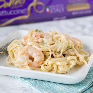 Fettuccine Alfredo with Shrimp Recipe