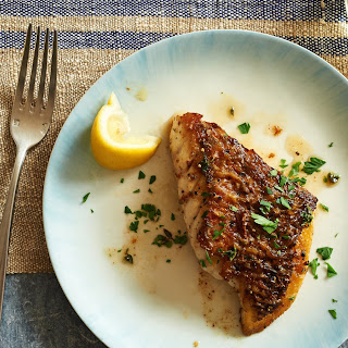 Pan Roasted Fish Fillets With Herb Butter