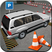Drive Prado Parking Legend 3D: Real Driving School
