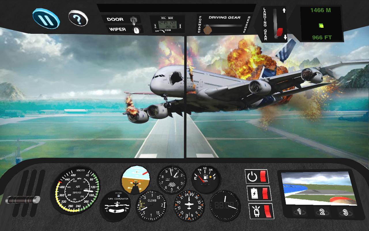 Airplane Flight Simulator 3d : Flying Simulator - Android ...