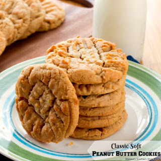 Soft Peanut Butter Cookies With Peanuts Recipes