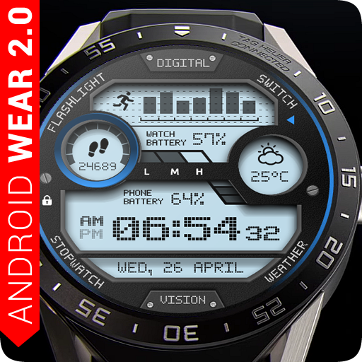 Digital Vision Watch Face